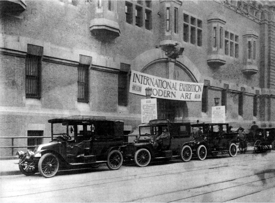 4 entrance to armory nyc 1913