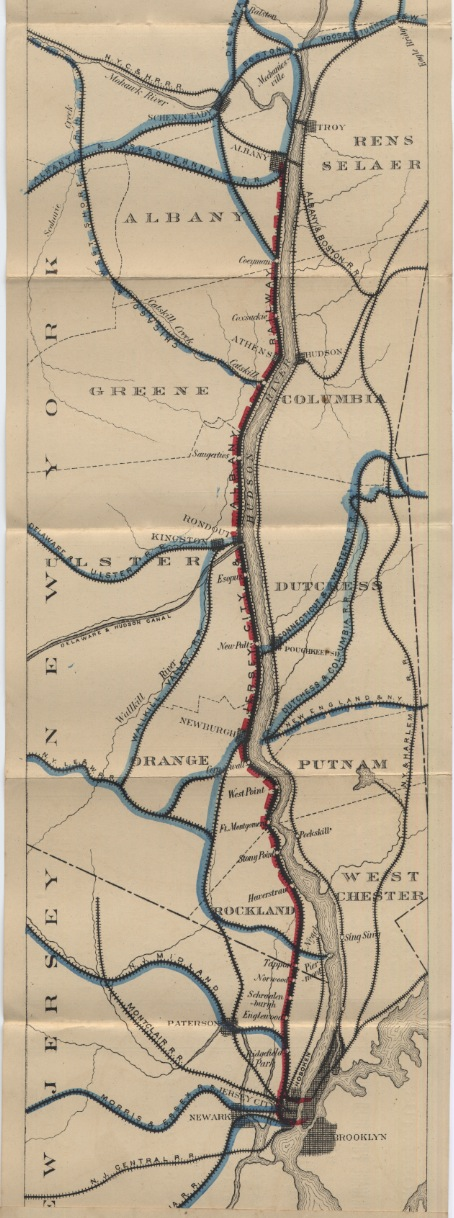 L-5 jersey city and albany railway, 1875