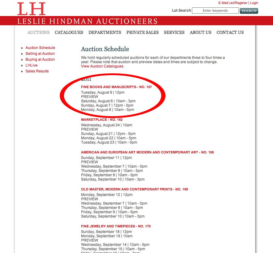 Lh-schedule